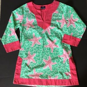 Simply Southern SZ Small Starfish Tunic Top